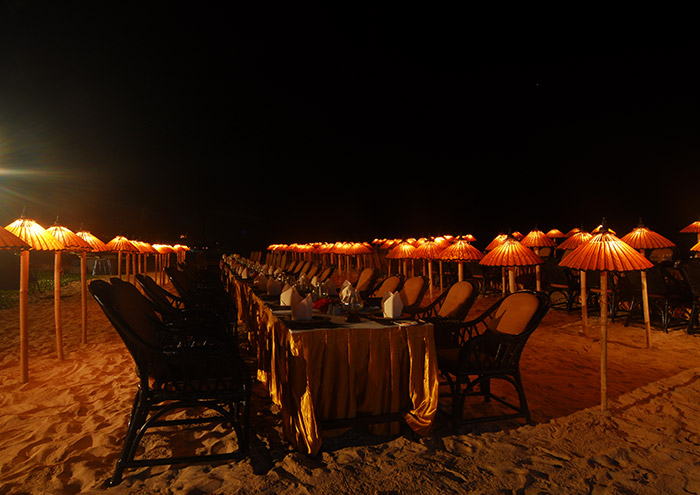Beach Gala Dinner for the group